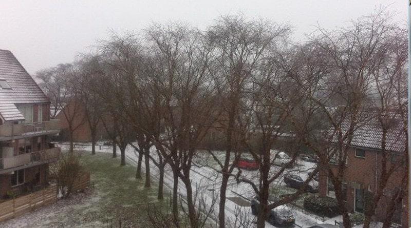 Winter in Heerenveen