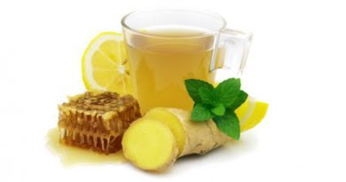 Gember en citroen limonade.