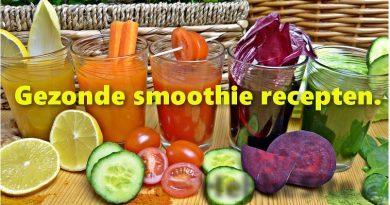 Gezonde smoothie recepten, vol vitamines detoxen en eenvoudig afvallen.