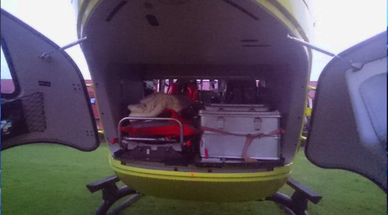 Traumahelikopter patiënten ruimte